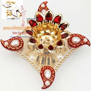 Red and Gold Light Diya