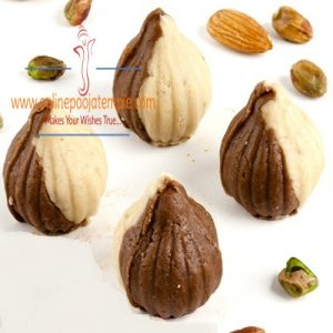 Chocolate Twin Mawa Modaks 500 gms